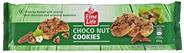 Fine Life Cookies American Cookies mit Schokoladen- & Haselnuss Stückchen 225 g Packung