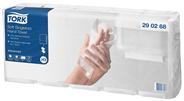 Tork Papierhandtücher Zickzackfalzung 23 x 25 cm 2 lagig Weiß - 5 x 200 Blatt