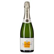 Veuve Clicquot Demi-Sec Champagner halbtrocken - 6 x 750 ml Geschenkpackungen