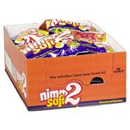 Nimm 2 Soft gefüllte Kaubonbons, Mix aus Orange, Zitrone, Erdbeere & Kirsche 20 x 195 g Beutel