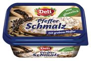 Deli Reform Pflanzliches Schmalz mit Zwiebel & Apfel, 88 % Fett 200 g Becher
