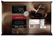 Weinrich Kuvertüre Halbbitter 60% Kakaogehalt 2,5 kg Packung