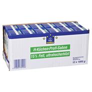 Horeca Select H-Küchenprofisahne 15 % Fett 12 x 1 l Packungen