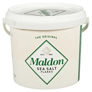 Maldon Sea Salt Flakes Meersalzkristalle 1,5 kg Eimer