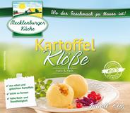 Mecklenburger Küche Knödel halb & halb lose Mischung 4 kg Karton