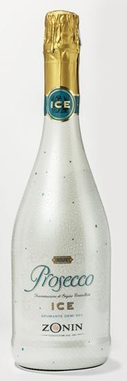 Zonin Prosecco Ice Spumante Schaumwein halbtrocken - 750 ml Flasche