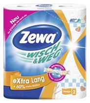 Zewa Wisch & Weg Küche u. Co 9 x 2 x 72 Blatt Kisten