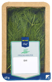 METRO Chef Dill Israel - 40 g Schale