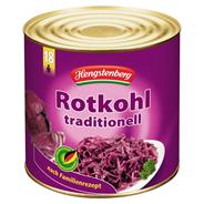 Hengstenberg Rotessa Rotkohl traditionell 2,65 l Dose