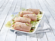 Grill Schwertfischröllchen gefüllt, TRIM E ca 250 g