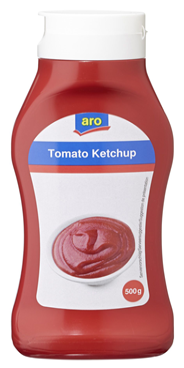 aro Tomatenketchup 500 g Flasche