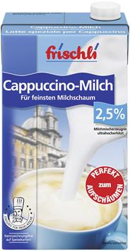 Frischli Cappuccino-Milch 2,5 % Fett 12 x 1 l Packungen