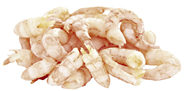 METRO Chef Cocktailshrimps tiefgefroren, gekocht, geschält, 660 - 1100 Stück - 1,8 kg Beutel