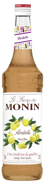Monin Mirabelle Sirup 6 x 0,7 l Flaschen