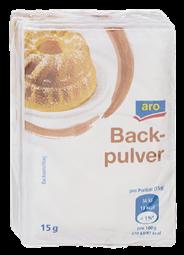 aro Backpulver 6 Stück á 15 g 90 g Packung