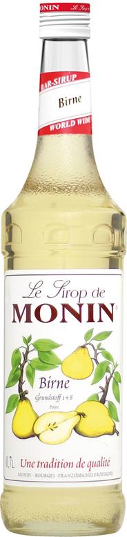 Monin Sirup Birne - 6 x 700 ml Flaschen