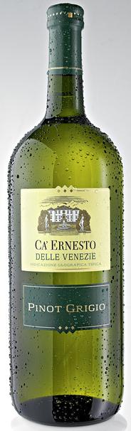 Ca' Ernesto Pinot Grigio Weißwein trocken - 6 x 1,50 l Flaschen