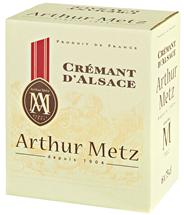 A Metz Brut Crémant D'Alsace Sekt - 6 x 750 ml Flaschen