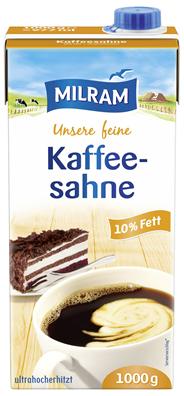 Milram Kaffeesahne 10 % Fett - (12 x 1,00 kg)