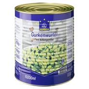 Horeca Select Gurkenwürfel mit Süßungsmitteln 10,2 l Dose