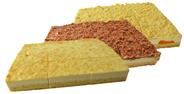Edna Bio Kuchenmischbox 3-fach sortiert servierfertig, 3 Stück á 1,44 kg, Mix aus Käse-Mandarinen-, Rahm-Käse- & Zupfkuchen 4,32 kg Karton