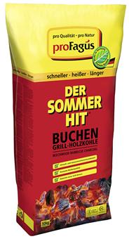 Pro Fagus Grillholzkohle Der Sommerhit - 10 kg Sack