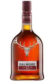 The Dalmore Highland Single Malt Whisky Aged 12 Years 40 % Vol. 0,7 l Flasche