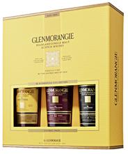 Glenmorangie Core Range Highland Single Malt Scotch Whisky 43 % Vol. 3 x 0,35 l Geschenkpackung