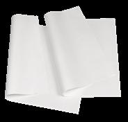 Papstar Verpackungspapier 1/4 Bogen Weiß - 12,5 kg