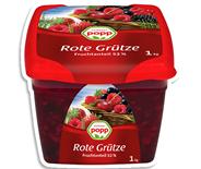 Popp Grütze Rote 1 kg Dose