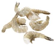Horeca Select Süßwasser-Garnelen tiefgefroren, mit Glasur, roh, ohne Kopf, mit Schale, Aquakultur, 29 - 33 Stück/Beutel 10 x 900 g Packungen