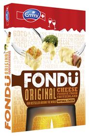 Emmi Schweizer Käsefondue Family & Friends 40 - 60 % Fett 78 x 400 g Packungen