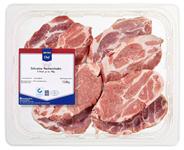 METRO Chef QS Schweinenackensteaks Natur, gekühlt, ca. 180 - 200 g Stücke