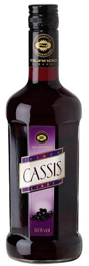 Olando Feiner Cassislikör 16 % Vol. 6 x 0,5 l Flaschen