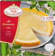 Coppenrath & Wiese Altböhmischer Käsekuchen Ø26 cm , individuell portionierbar, verzehrfertig, ungeschnitten 1,25 kg Packung