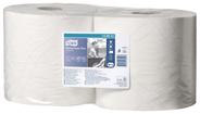 Tork Mehrzweck Papierwischtücher W1/W2 Weiß Kombirolle 2-lagig 2 x 750 Blatt Packung