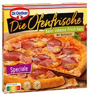 Dr. Oetker Die Ofenfrische Speziale tiefgefroren, Pizza mit Schinken, Salami, Champignons & Käse 405 g