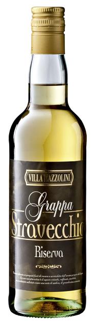Villa Mazzolini Grappa Stravecchia Riserva 38 % Vol. 6 x 0,7 l Flaschen