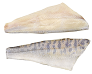 Sewe-Frost Zander-Filet tiefgefroren, mit Glasur, mit Haut, geschuppt, aus Binnenfischerei, ca. 100 - 136 g Stücke 4 kg Karton