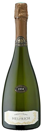 Leoff Crémant d´Alsace Brut weiß Sekt trocken 6 x 0,75 l Flaschen