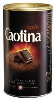 Caotina Noir Zartbitteres Kakaogetränk 500 g Dose