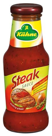 Kühne Würzsauce Steak 250 ml Flasche