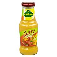 Kühne Würzsauce Curry 250 ml Flasche