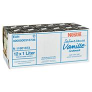 Nestlé Docello Vanillesauce 12 x 1 l Packungen