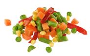 Horeca Select Mexiko-Mix tiefgefroren, küchenfertig, Mischung aus Karotten, Erbsen, Bohnen, roter Paprika & Mais 2,5 kg Beutel
