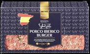 METRO PREMIUM Porco Iberico Burger tiefgefroren, roh, 6 Stück à 200 g, vak.-verpackt 1,2 kg Packung