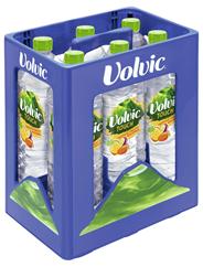 Volvic Touch Tropische Früchte mit Ananas, Maracuja und Mango 6 x 1,5 l Flaschen