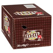 M & M's Chocolate 24 x 45 g Karton