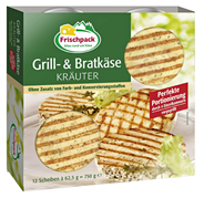 Frischpack Grill- und Bratkäse Kräuter 45 % Fett 750 g