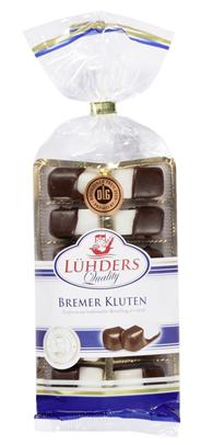 Lühders Bremer Kluten mit Bitterschokolade 125 g Packung